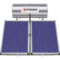 Ηλιακός θερμοσίφωνας PYRAMIS 200LT ΕΠΙΛ. ΣΥΛΛΕΚΤΗ 2Χ1,5M2 Διπλής ενέργειας