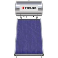 Ηλιακός θερμοσίφωνας PYRAMIS 120LT ΕΠΙΛ. ΣΥΛΛΕΚΤΗ 1Χ2M2(026000205) Διπλής ενέργειας