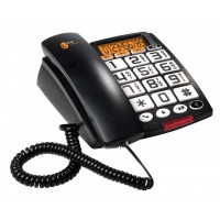 Ενσύρματο Τηλέφωνο TOPCOM A801 BLACK (TS 6651)