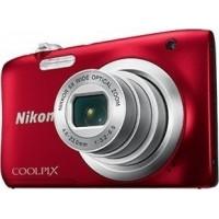 Φωτογραφική μηχανή Nikon Coolpix A 100 Red + Δώρο θήκη