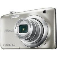 Compact Camera NIKON A100 COOLPIX SILVER + Δώρο θήκη