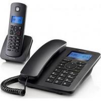 Ασύρματο Τηλέφωνο MOTOROLA C4201 COMBO Ασυρματα Τηλεφωνα