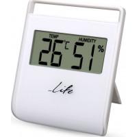 Ψηφιακό θερμόμετρο / υγρόμετρο εσωτερικού χώρου LIFE WES-102