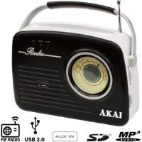 Φορητό ραδιόφωνο AKAI APR-11B RETRO ΑΝΑΛΟΓΙΚΟ