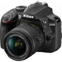 Φωτογραφική μηχανή Nikon D3400 Kit (AF-P DX 18-55mm f/3.5-5.6G VR) + Δώρο θήκη μεταφοράς