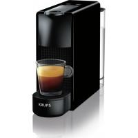 Καφετιέρα Nespresso KRUPS XN1108S Essenza Mini Black + Δώρο 12 κάψουλες + Δώρο κουπόνι αξίας 30 ευρώ για κάψουλες