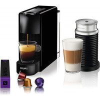 Καφετιέρα Nespresso KRUPS XN1118S Essenza Mini Aeroccino Black + Δώρο 12 κάψουλες + Δώρο κουπόνι αξίας 30 ευρώ για κάψουλες