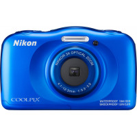 NIKON W100 BackPack Kit Blue Compact Camera