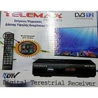 Αποκωδικοποιητης Mpeg4 TELEMAX DVB TX-01
