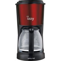 Καφετιέρα φίλτρου IZZY C601 Red