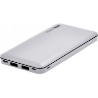 Powerbank CRYSTAL AUDIO PBK-10WH 10.000mAh White