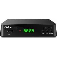 Αποκωδικοποιητής Mpeg4 OSIO OST-2660D H.265/T2/HEV