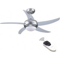 Ανεμιστήρας οροφής GRUPPE L44001 ΜΕ ΦΩΣ & ΤΗΛΕΧ/ΡΙΟ Διαφανή