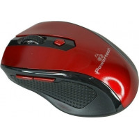 POWERTECH PT-299 MOUSE RED WIRELESS